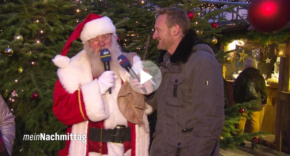 Weihnachtsmanntreffen Celle beim NDR